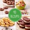 Kinderleichte Becherküche - Plätzchen, Kekse, Cookies & Co.- Backset inkl. 3-farbige Messbecher