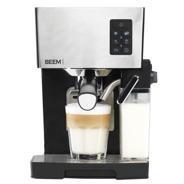 BEEM Espresso-Maschine Classico 19bar 1450W schwarz/Edelstahl + Zubehör