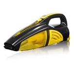Cleanmaxx Akku-Handstaubsauger 2in1 gelb/schwarz