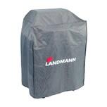 LANDMANN Wetterschutzhaube Premium - 55 x 117 x 90 cm - grau