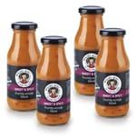 Mama Wong Sauce Sweet & Spicy 4er-Set