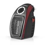 Easymaxx Mini-Heizung 500W schwarz/rot