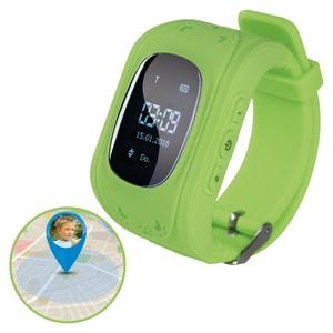 EASYmaxx Armbanduhr Kids Smart Watch OLED in Limegreen