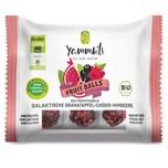 Yammbits BIO-Fruchtkugeln Granatapfel-Cassis-Himbeere - 6er-Set