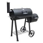 GRILLCHEF Smoker - 112 cm - schwarz