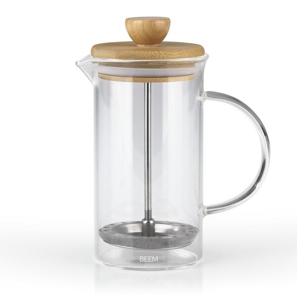BEEM COFFEE PRESS Kaffeebereiter - 0,35 l 2 - 3 Tassen French Press Kaffee Bambus