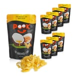 POOK Kokosnuss-Chips Mango Sea Salt 8er-Set 40g
