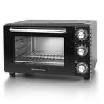 Gourmetmaxx Infrarot-Ofen 26l 1650W schwarz