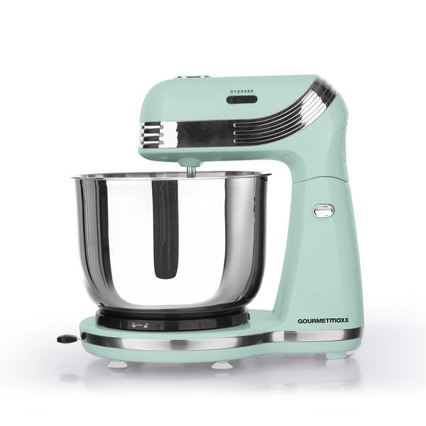 GOURMETmaxx Küchenmaschine Retro 250W in Mint
