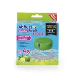Abfluss-Fee Dusche Duftstein Set 8-tlg. grün Apfel-Zitrone