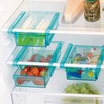 GOURMETmaxx Klemm-Schublade für Kühlschrank, 3er-Set