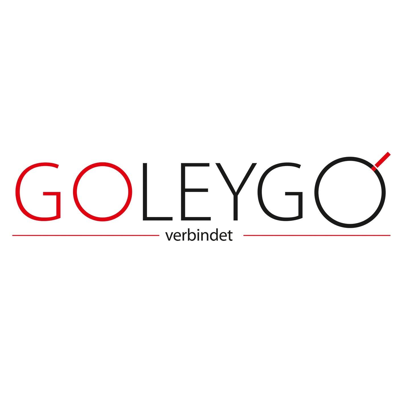 GoLeyGo Hundeleine mit Geschirr L schwarz