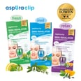 aspUraclip Mini-Inhalator Best of Set 1x fresh, 1x med & 1x relax