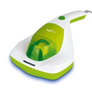 MAXXMEE Milben-Handstaubsauger Kompakt mit UV-C Licht - weiß/limegreen