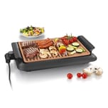 Gourmetmaxx Tischgrill max. 220 °C rauchfrei schwarz/kupfer