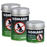 GOMAGO Mardervergrämung 2x Haus und 1x Auto