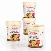 Spooning Cookie Dough Keksteig Chocolate Chips 4er-Set