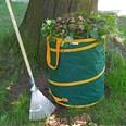 PRIMA GARDEN verschließbarer Gartenabfallsack 240 l 3er Set Pop-up Funktion Reißfest Wasserabweisend 4 Tragegriffe