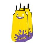 Schmuki Schmutzschutzsack für Kinder - gelb - 2er-Set