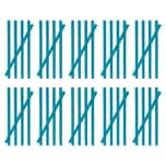 MAXXMEE Abflussreiniger-Stick Meeresbrise - 50er-Set blau