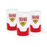 Taste Hero VfB Stuttgart Bier-Aufbereiter - rot/weiß - 3er-Set