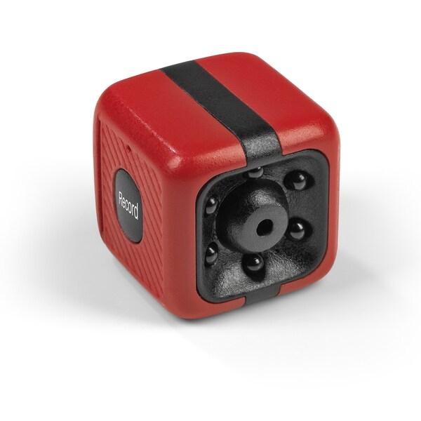 Easymaxx Mini-Kamera mit Speicherkarte 8GB rot/schwarz