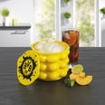 BVB Eiswürfelbehälter - Für bis zu 24 Eiswürfeln - gelb