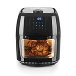 GOURMETmaxx Heißluft-Fritteuse Digital - Fritteuse, Ofen & Drehgrill in einem - Heißluftfritteuse - Schwarz