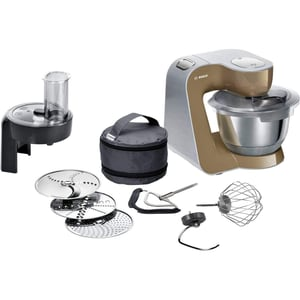 Bosch Küchenmaschine Silber Champagner MUM58C10