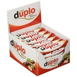 Ferrero Duplo Waffel Schokoladenriegel 40 Stück Thekendisplay
