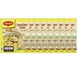 Maggi Guten Appetit Familien Suppe Gemüsesuppe mit Nudeln 60g 9er Pack