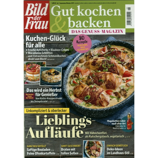 Bild der Frau gut kochen & backen 5/2019 Lieblings-Aufläufe
