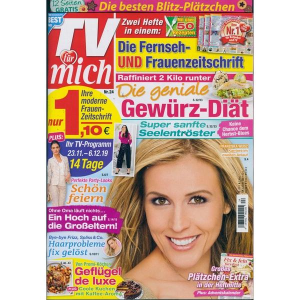 TV für mich 24/2019 Die geniale Gewürz-Diät