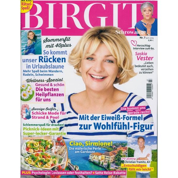 Birgit 7/2019 Mit der Eiweiß - Formel