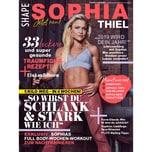Shape SH Sophia Thiel 1/2019 So wirst du Schlank & Stark