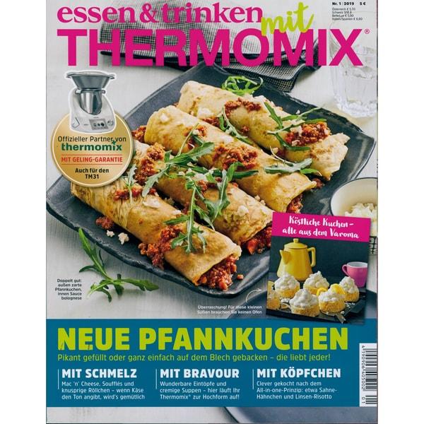 essen & trinken mit THERMOMIX 1/2019 Neue Pfannkuchen