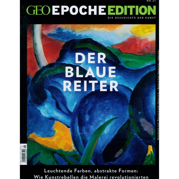 GEO Epoche Edition 21/2020 Der Blaue Reiter