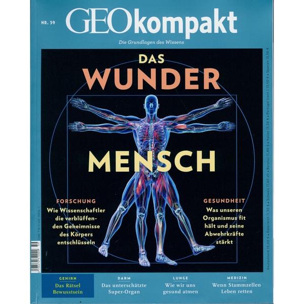 GEO Kompakt 59/2019 Das Wunder Mensch