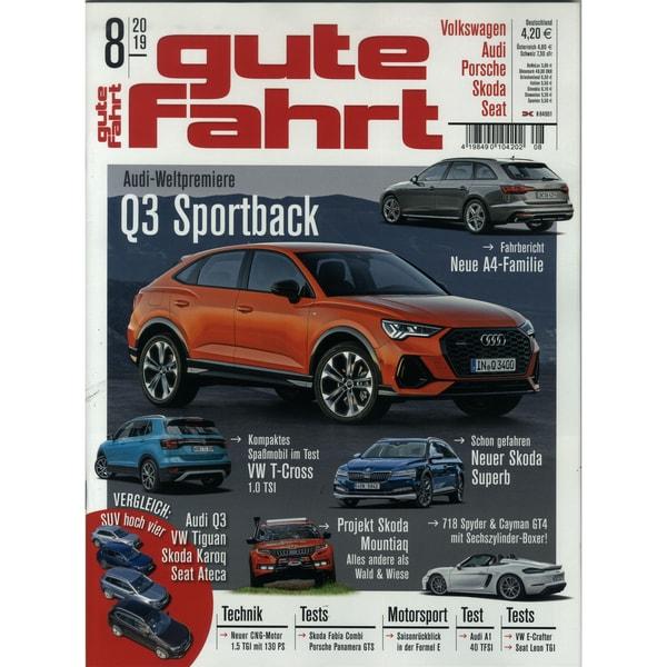 Gute Fahrt 8/2019 Q3 Sportback