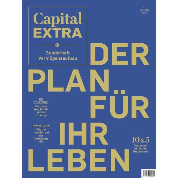 Capital Sonderheft 1/2018 Der Plan für Ihr Leben