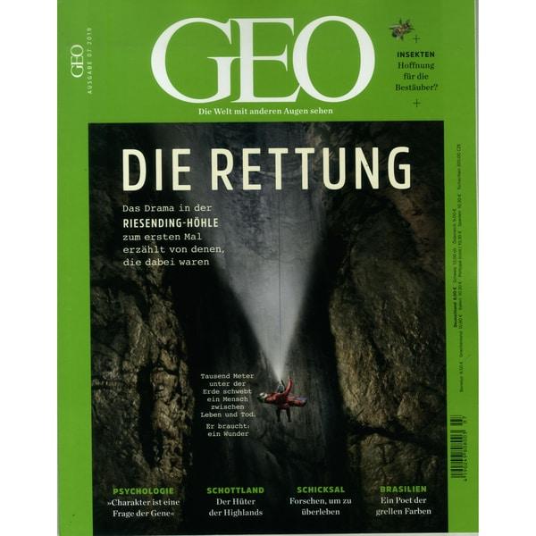 GEO 7/2019 Die Rettung