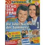 Echo der Frau 31/2021 Die Jubel-Nachricht des Sommers!