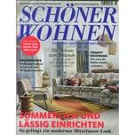 Schöner Wohnen 6/2019 Sommerlich und lässig einrichten