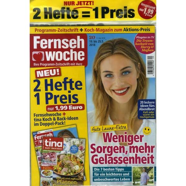Fernsehwoche Nord mit Extra 20/2018 Weniger Sorgen