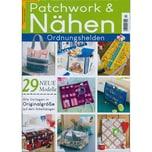 Patchwork und Nähen 4/2021 Ordnungshelden 29 neue Modelle