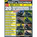 TEST & TECHNIK SPEZIAL 2/2019 Motorräder im Einzeltest