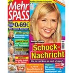 Mehr Spass 6/2019 Andrea Kiewel: Schock - Nachricht