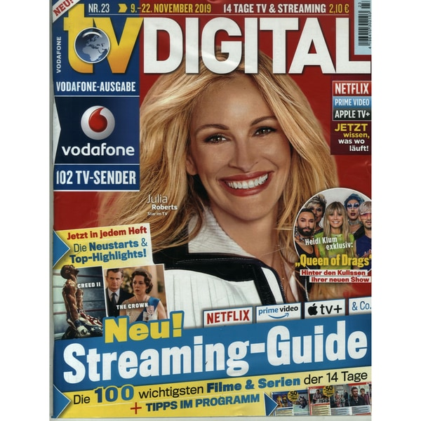 TV Digital Vodafone 23/2019 Streaming-Guide