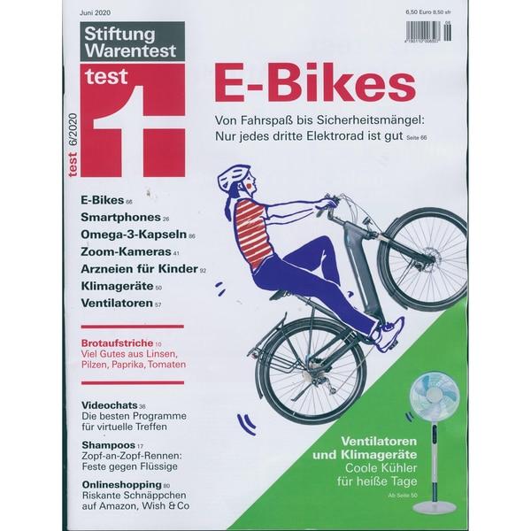 Stiftung Warentest Test 06/2020 E-Bikes