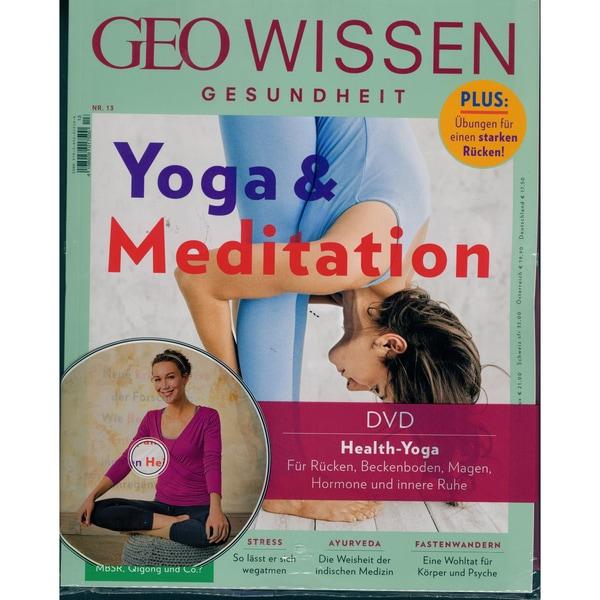 GEO Wissen Gesundheit mit DVD 13/2020 Yoga & Meditation